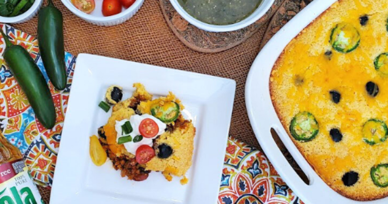 Heart Healthy Vegetarian Tamale Pie