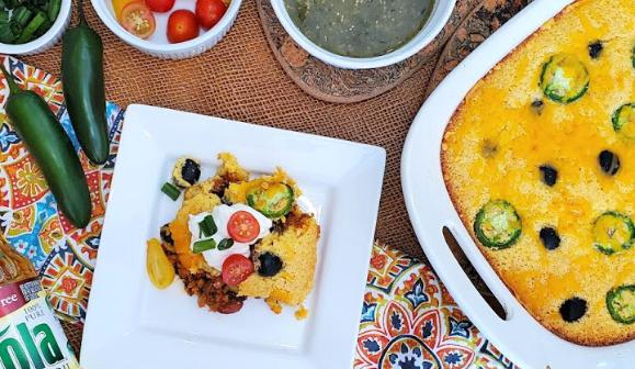 Heart Healthy Vegetarian Tamale Pie