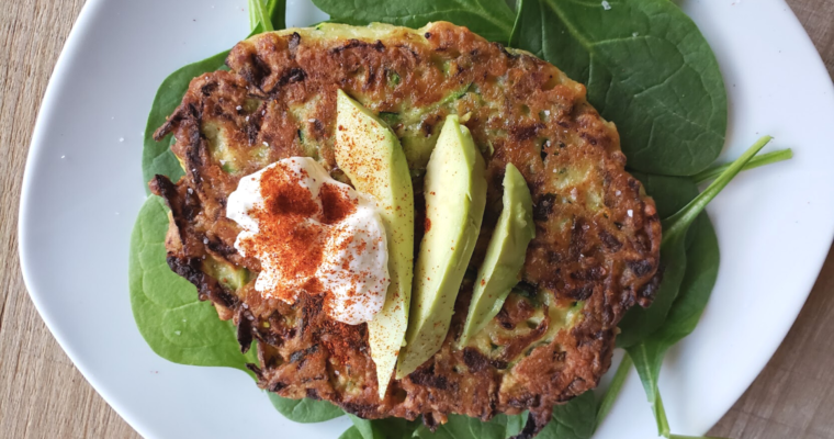 Simple Zucchini Fritters