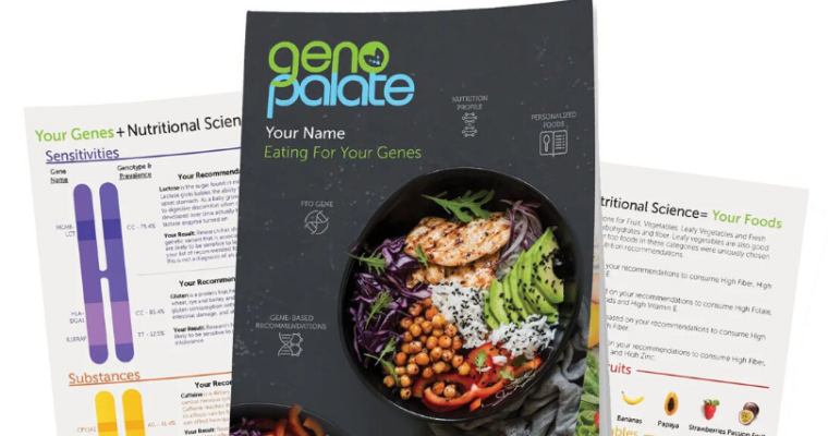 GenoPalate: Our Genes Tell Us What we SHOULD Eat!