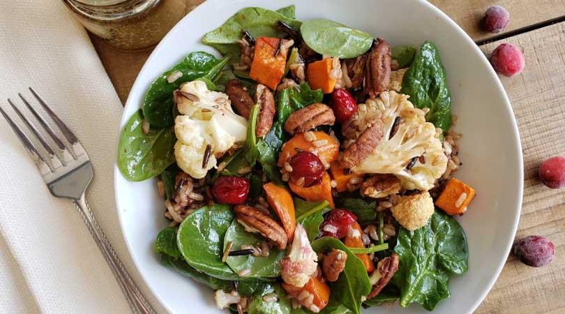Roasted Cranberry SuperFood Salad