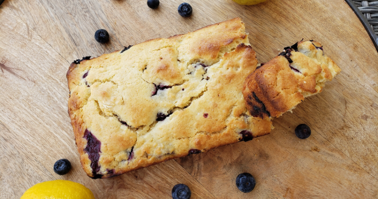 Lemon Blueberry Quickbread Loaf Recipe