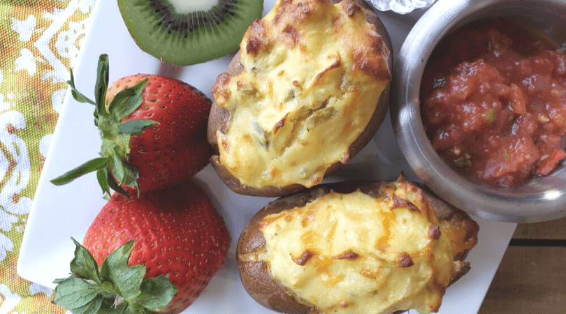 Stuffed Breakfast Potatoes Recipe