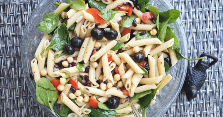 no brainer chilled pasta salad