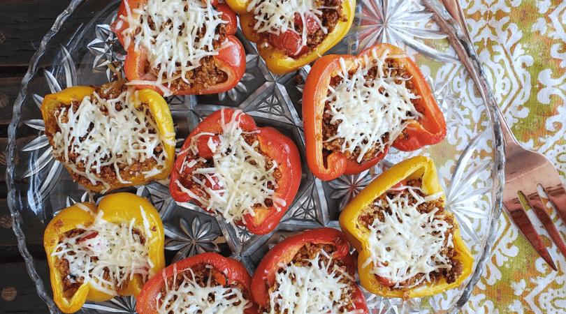 roasted peppers hero platter