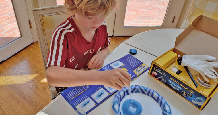 NATIONAL GEOGRAPHIC Magic Chemistry Set Review