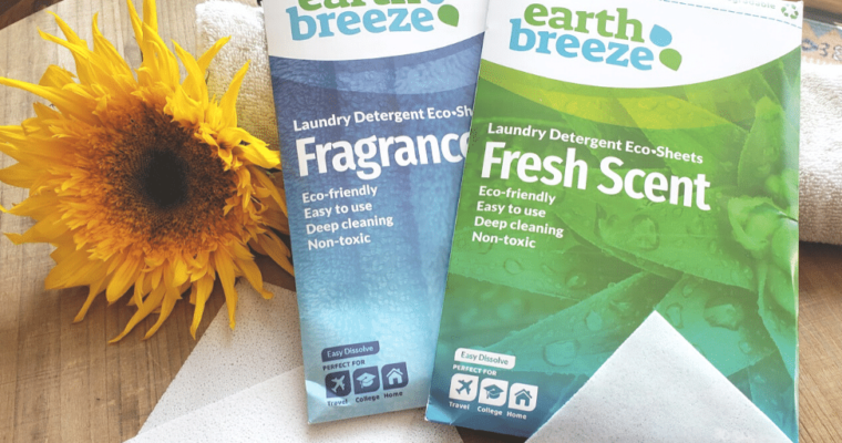 EarthBreeze Laundry Sheets