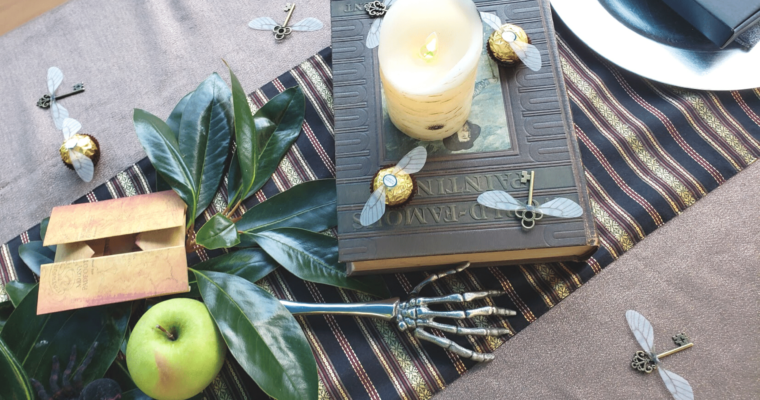 harry potter dinner party table decor ideas