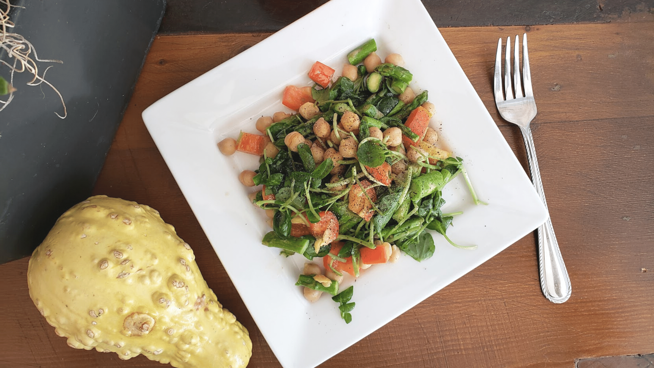 Watercress Asparagus Salad