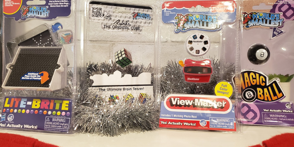 GenX Gifts: Bringing Back Old School Fun with SuperImpulse Minis for the Holidays