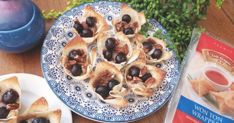JSL blueberry brie bites