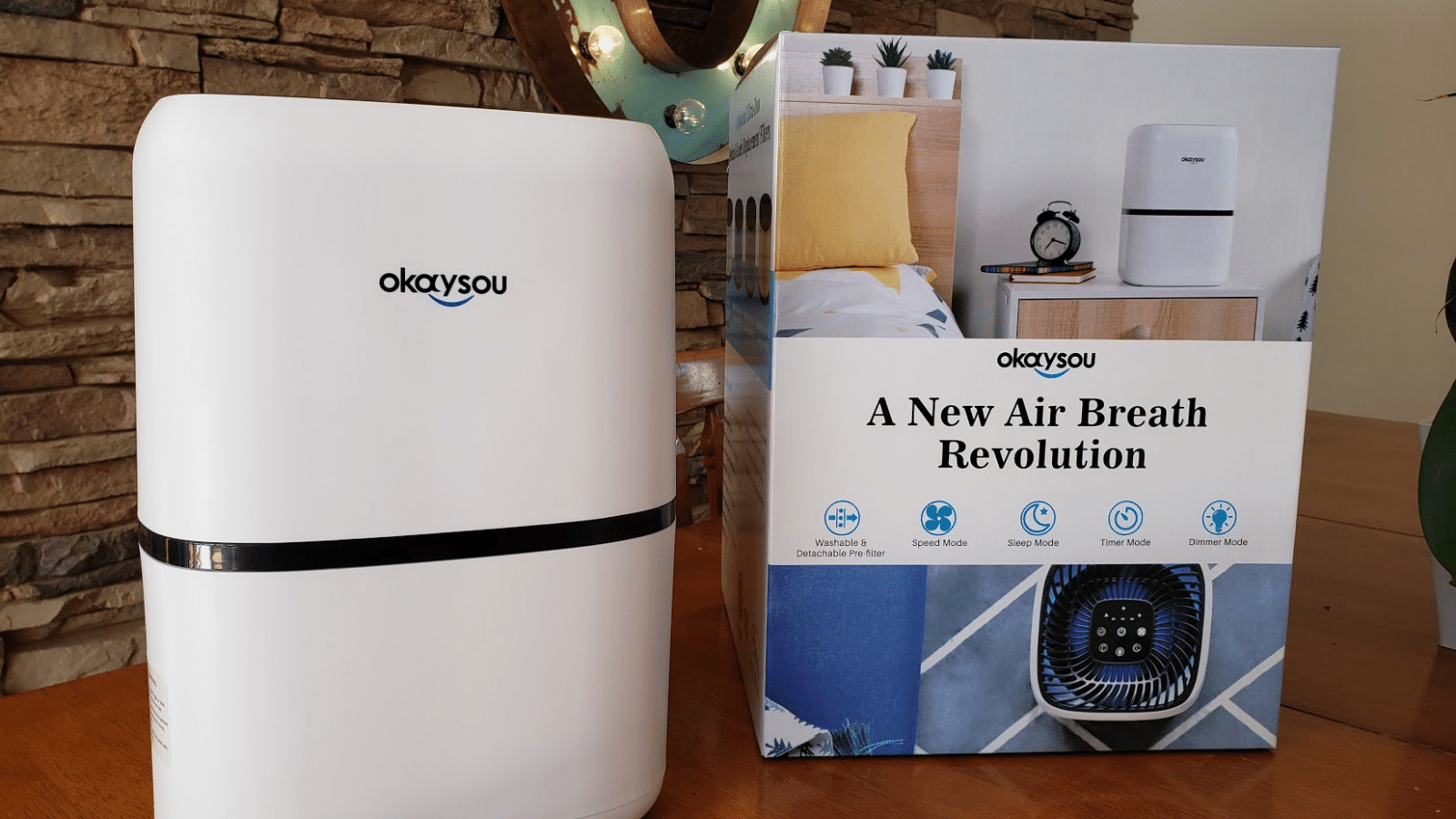 Purify the air in your teen's room with Okaysou