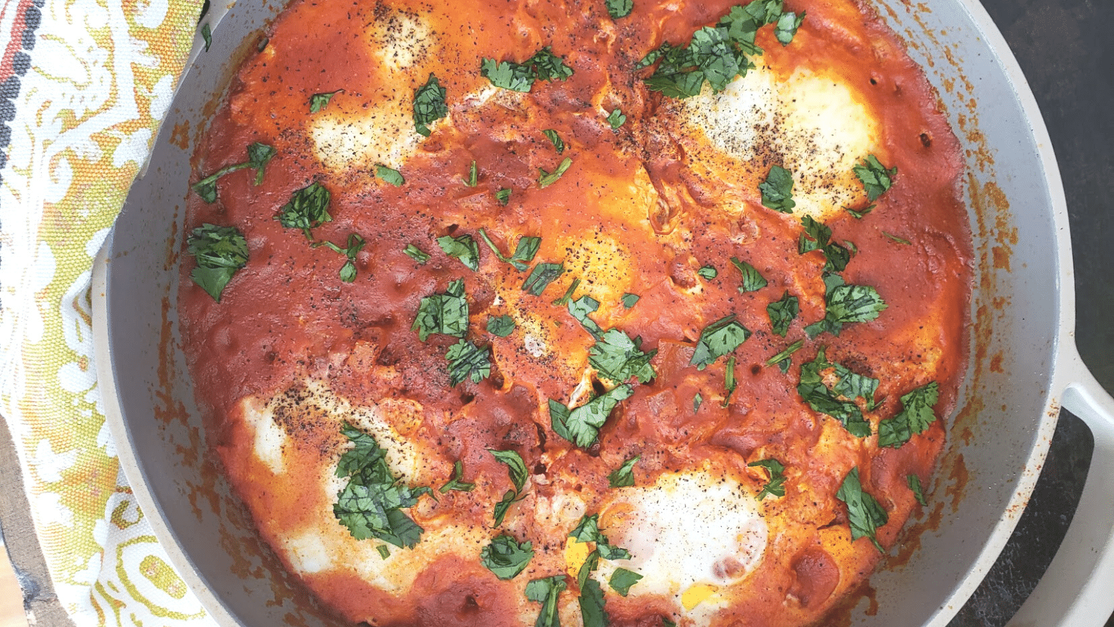 Spicy Shakshuka Recipe