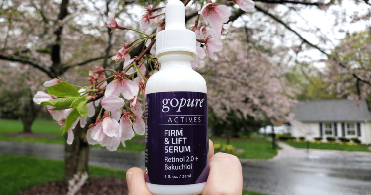 Fighting Back Time with goPure's Firm & Lift Serum