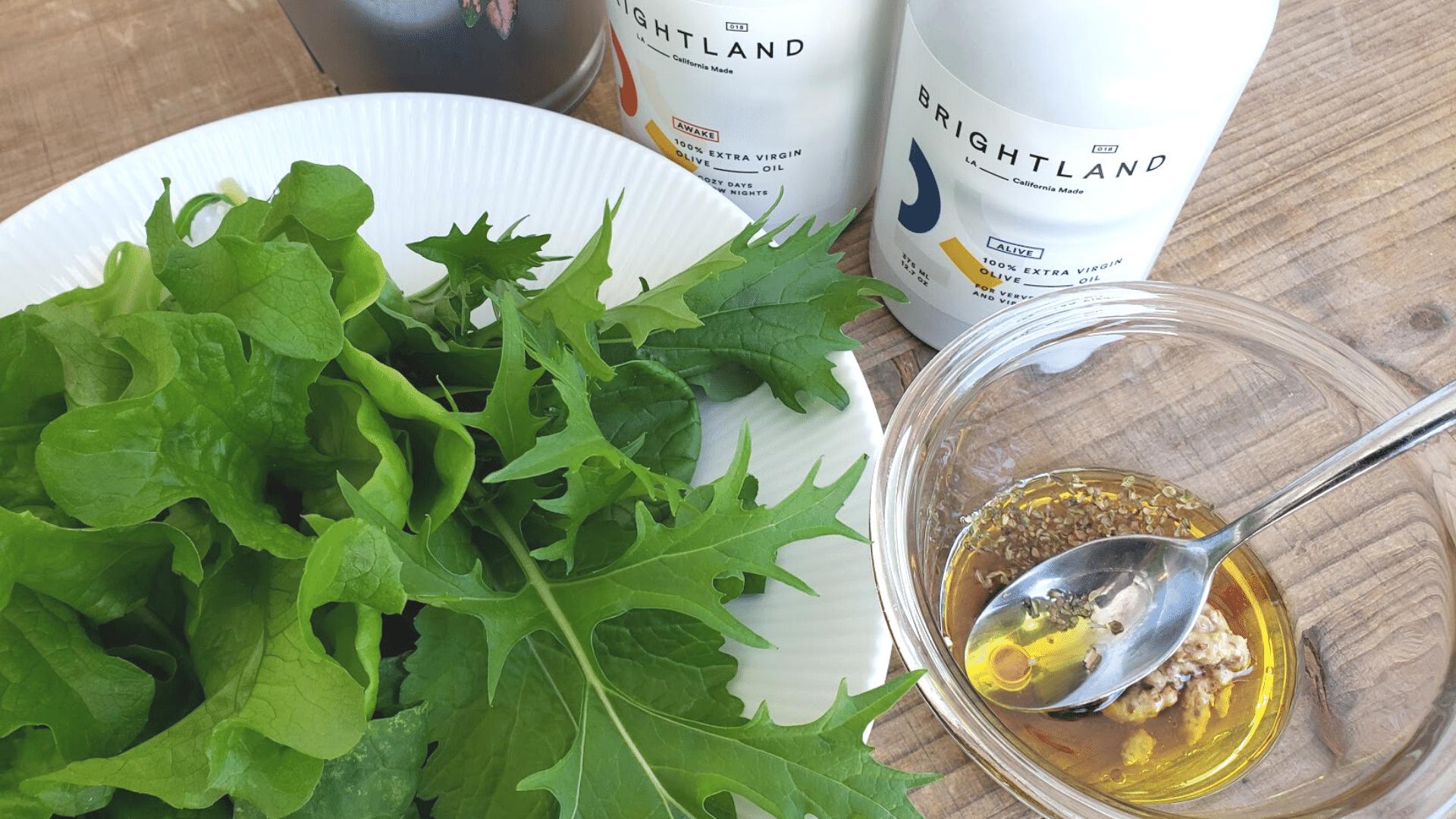 BRIGHTLAND Olive Oils – Making The Perfect Salad
