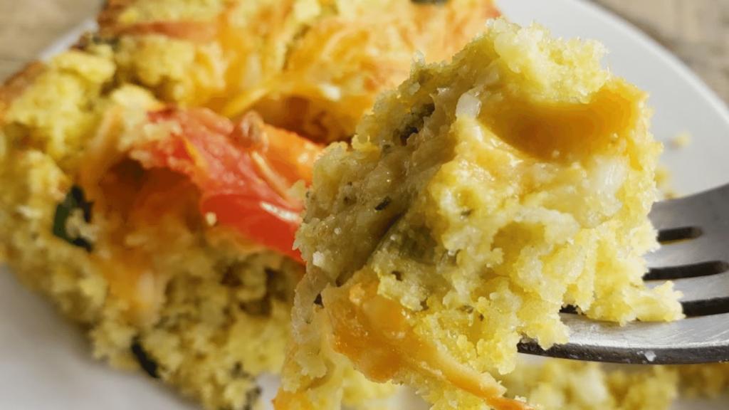cornbread recipe with salsa verde