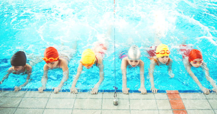 How Swimming Can Help Children Deal With Stress