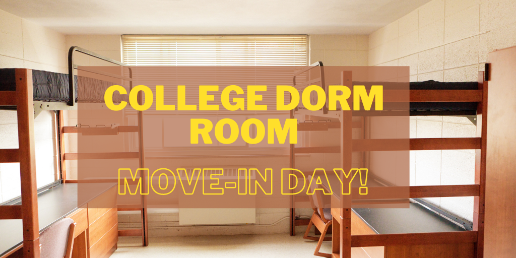 Tips for College Dorm Move-in Day