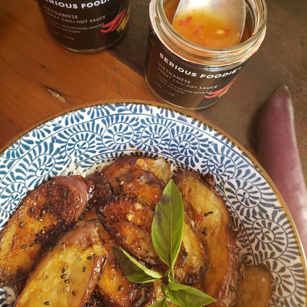 Vietnamese Sweet & Spicy Eggplant Recipe