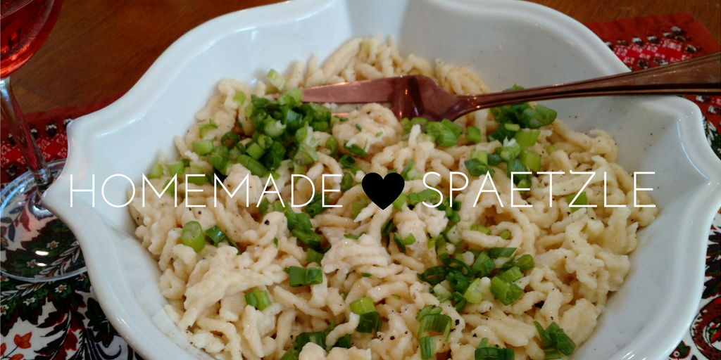 Celebrate Fall with Homemade Spaetzle