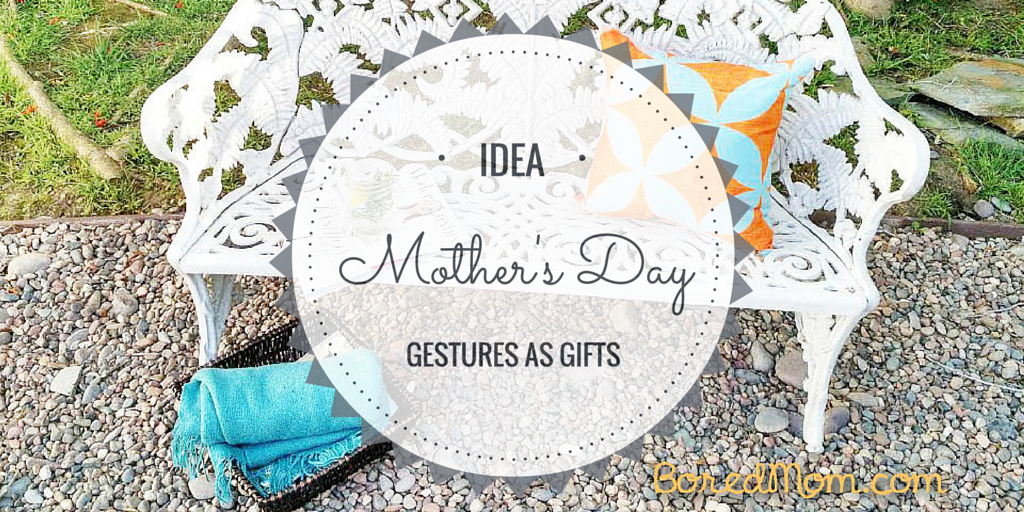 Mother's Day Gestures as a Gift: Outdoor Relaxation Station