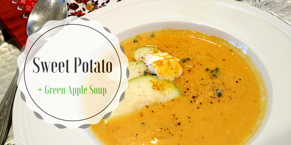 Sweet Potato + Green Apple Soup