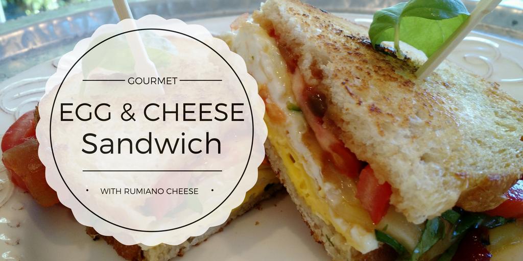Gourmet Egg Sandwich with a Twist