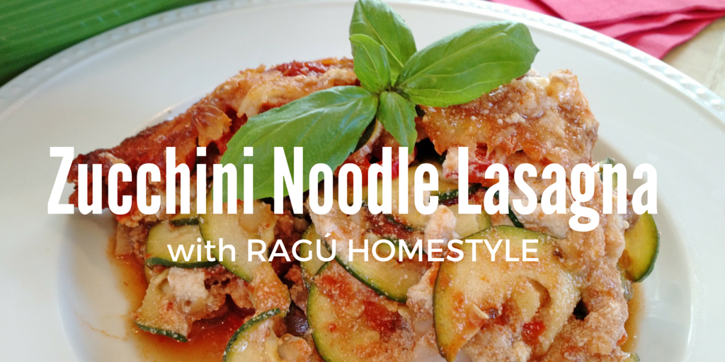 Zucchini Noodle Lasagna with RAGÚ Homestyle