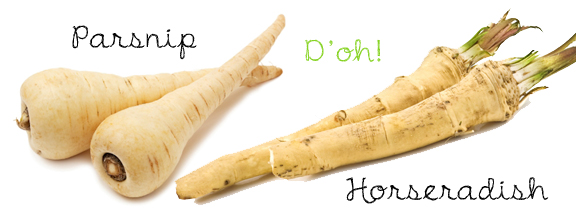 Parsnip & Horseradish: This One Blew My Mind!