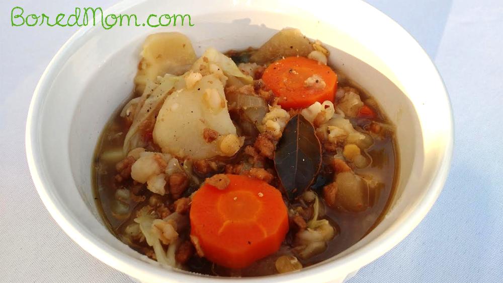 Vegetarian Irish Farm Stew