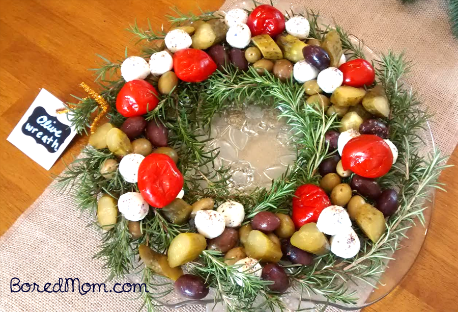Easy Olive Wreath