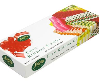 Old Fashioned Ribbon Candy for Christmas